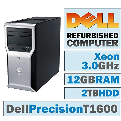 Dell Precision T1600 MT/Xeon E3-1225 @ 3,10 GHz/12 GB DDR3/2 TB HDD/DVD-RW/WINDOWS 10 PRO 64 Bit