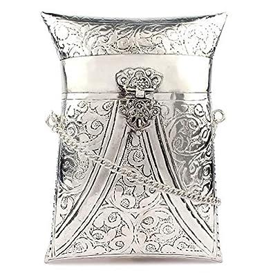 Trend Overseas Cell Phone Purse Brass Purse antique Ethnic clutch evening clutch shoulder handbag Small Crossbody Bag Bridal Party bag