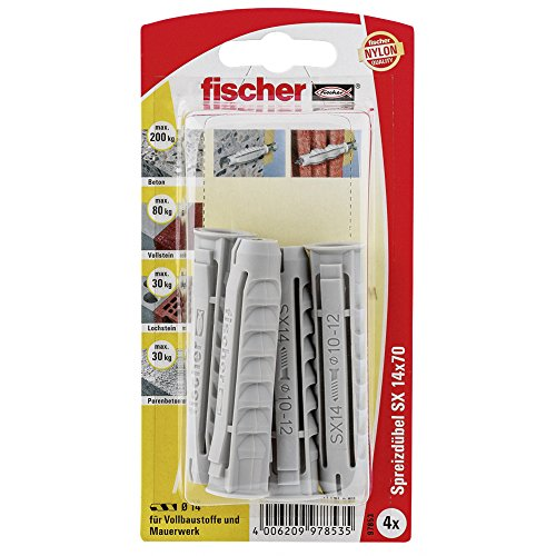 Fischer Cheville sx 14 x 70 K Carte SB, 097853