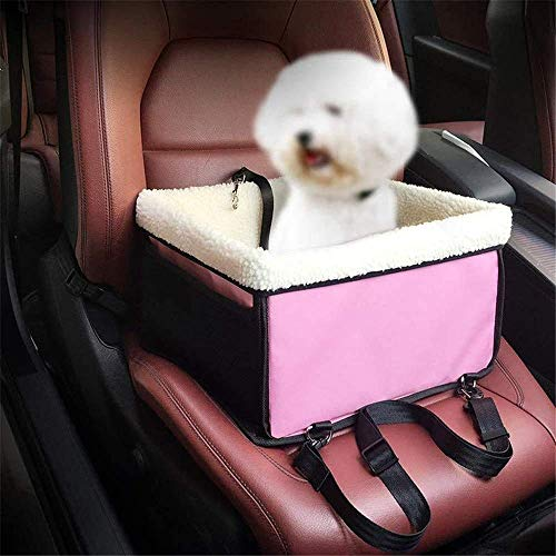 AYCPG Pet Booster Car Seat,Waterproof Pet Car Seat Cushion,Dog Booster Seat Dog Front Seat Single Seat for Small and Medium Pets,A lucar (Color : A)