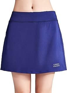 Women's Active Athletic Skort Lightweight Skirt with Pockets Shorts for Running Tennis Golf