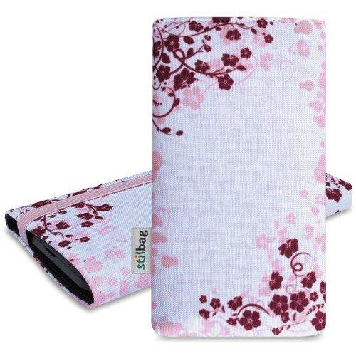 Stilbag Funda 'MIKA' para Samsung Galaxy S4 mini - Diseño: Rose Flowers