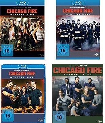 Chicago Fire - Staffel 1-4 [Blu-ray]