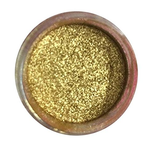 GOLD HIGHLIGHTER DUST (7 GRAMS) (7 grams Net. container) Product made in USA, by Oh! Sweet Art Corp