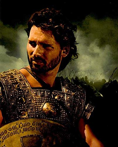 Troy Eric Bana as Hector looking back 8 x 10 Inch Photo