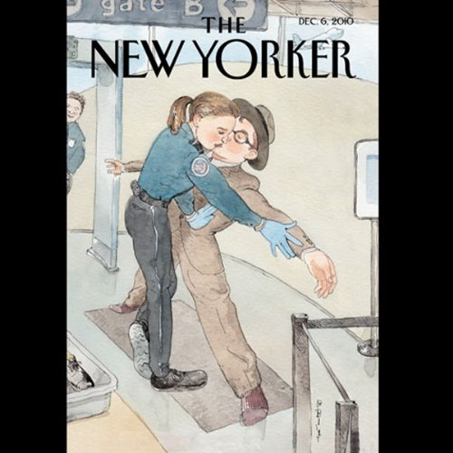 The New Yorker, December 6th 2010 (Connie Bruck, Gay Talese, Lizzie Widdicombe) cover art