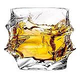 Copas Gafas únicas de whisky, 11 oz, gafas, gafas de bourbon for...