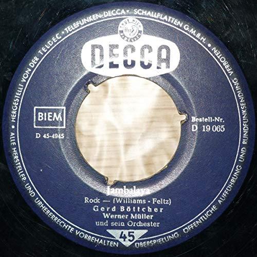 Jambalaya/Weine nicht um mich(7' Vinyl Single)(1960)(Decca D 19065)