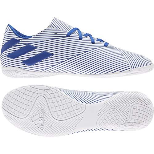 Adidas Nemeziz 19.4 IN, Zapatillas Deportivas Fútbol Hombre, Azul (FTWR White/Team Royal Blue/Core Black)