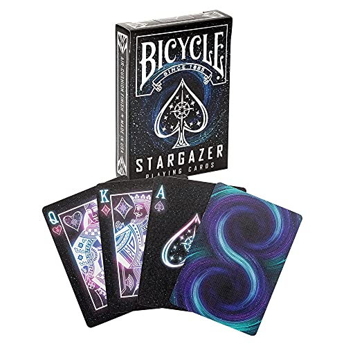 Stargazer Playing Cards, 0.69 x 2.56 x 3.63 inches