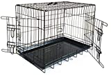 Petnap Pet, Dog, Cat Animal Crate with Accessories, Pen Car Cage for transportation, Vehicle Cage (Square) (42Ex Large)