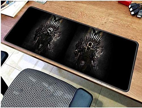 Bandanas Juegos Alfombrilla de ratón, Mousepad Juego de Tronos, el ratón Gaming Keyboard Mat Avanzada Mousepad for la computadora PC Alfombrilla de ratón (Color : D, Size : 700 * 300 * 3mm)