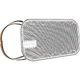 NINETEC Desire Bluetooth 20W NFC Speaker Lautsprecher Leder Trageriemen Weiß