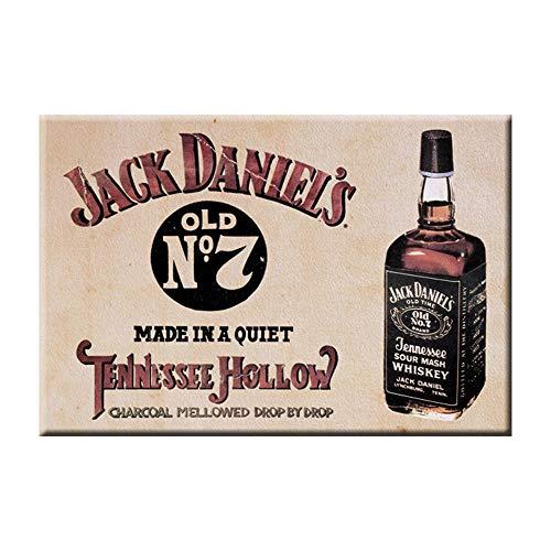 Desperate Enterprises Jack Daniels Tennessee Whiskey Kühlschrankmagnet, 5,1 x 7,6 cm