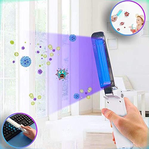 BCQ Mano UV Ligero Esterilizador Portátil 10 Segundos Rá