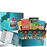 Turkish Delights, Coffee and Premium International Snacks Variety Pack Care Package, Ultimate Assortment of Turkish Treats, Mix variety pack of snacks, Best Foreign Candy or Foreign Snacks Box, Best U