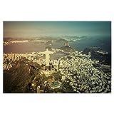 artboxONE Poster 150x100 cm Städte Cristo Redentor in Rio