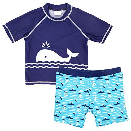 JBVG Maillot De Bain Confortable pour Garçon Baby Boy Deux pièces Maillot de Bain for Enfants Cartoon Suit Maillot de Bain Le Tissu Hautement élastique Est Doux (Color : 2, Size : 10T)