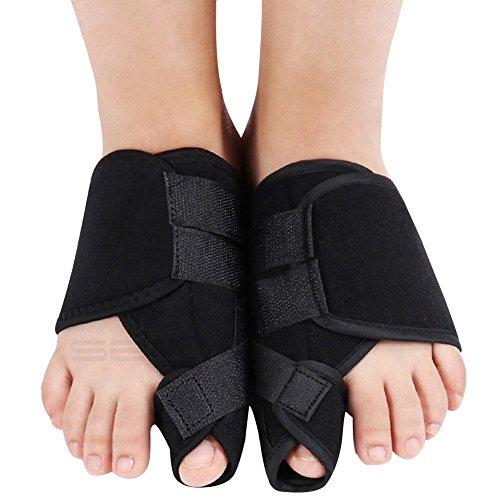 Adjustable Big Toe Bunion Splint, Night Time Toe Straightener & Corrector Separator Brace Pad, Ergonomic Toe Wrap & Bendable Toe Stabilizer, Bunion Relief Protector for Hallux Valgus Overlapping (M)