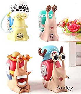 Scallion Den Den Mushi Telephone Chopper Nami Robin Luffy Ace Law Sanji Zoro Brook Usopp Franky Buggy Figure Action Toy Doll Cool Must Haves 1 Year Old Girl Gifts Favourite Movie