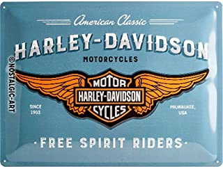 SHAWPRINT Grumpy Old HARLEY DAVIDSON LOW RIDER Owner Lives Here metal sign//plaque funny 42H2