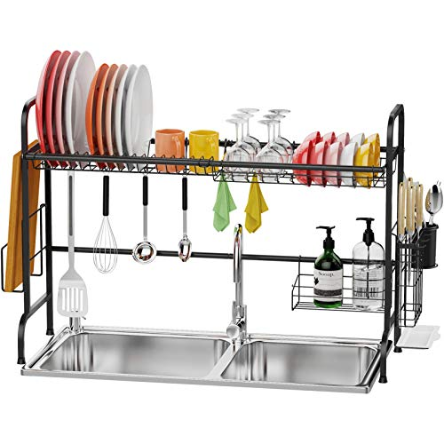 Over the Sink Dish Drying Rack, F-color Premium 201...