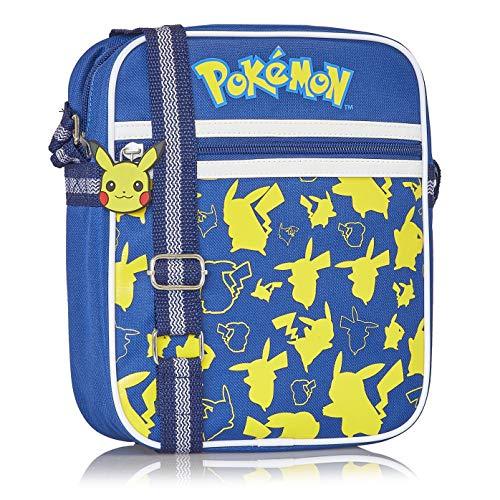 Pokémon Pikachu Umhängetasche, Herren Shoulder Bag, Kleine Crossbody Tasche Für Männer, Frauen, Jungen Und Mädchen, Perfekt Schultertasche Für Urlaub, Coole Sachen Für Teenager