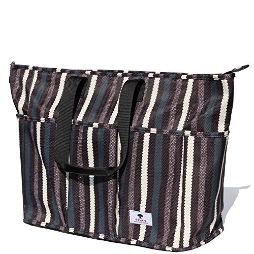 Damen Reisetasche, Women Weekender Bag Muti-Pockets Overnight Carry-on Duffell Travel Gym...
