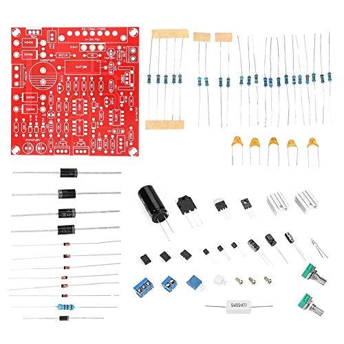 0-30 V 2mA-3A Fuente de alimentación regulable de corriente continua estabilizada DC Kit de bricolaje para laboratorio Accesorios de bricolaje