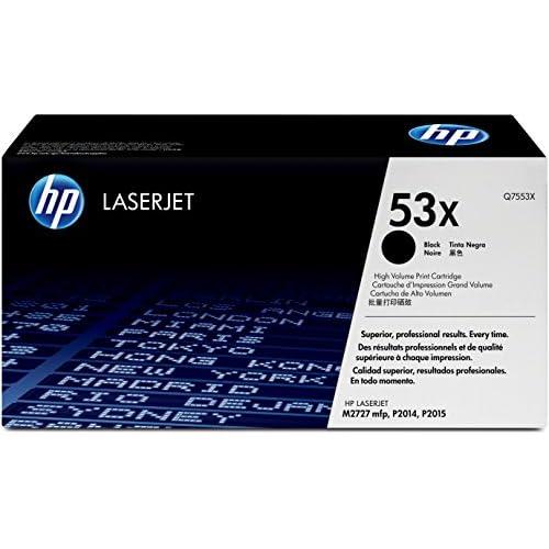 Hp Laserjet Q7553X Black Print Cartridge