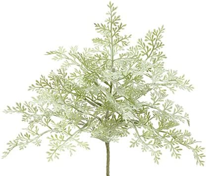 Silk Plants Direct wholesale Dusty Miller Bush Max 87% OFF of 12 Pack