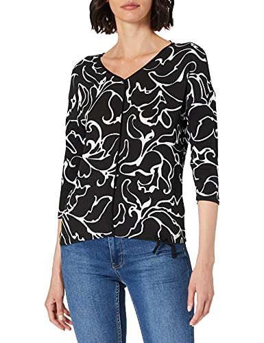 Street One Damen 316016 T-Shirt, Black, 38