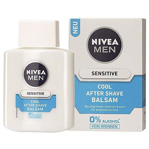 Nivea Men Sensitive Cool Aftershave Balsam, 1er Pack, 1 x 100ml