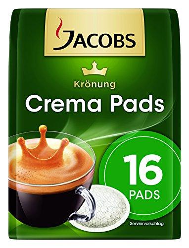 Jacobs Krönung Crema Klassisch, 16 Kaffee Pads, 10er Pack (10 x 105 g)