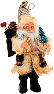 Wadonerful Christmas Decorations Santa Claus Holding a Candy Bag Party Decor Hanging Ornaments Tree Cute Doll Pendant