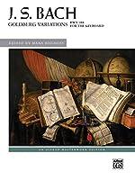 Goldberg Variations BWV 988 for the Keyboard (Alfred Masterwork Edition)