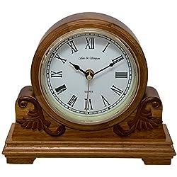Fox and Simpson Buckingham Oak Mantel Clock