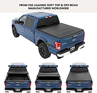 Bestop 16113-01 EZ Fold Truck Tonneau Cover for 2004-2018 Ford F-150 Styleside Crew Cab/Super Cab (except Heritage), 5.5' bed, Black