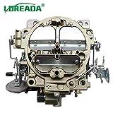 Loreada 4 Barrels Carburador Carb Carburettor ROCHESTER QUADRAJET 4MV CARBURETOR FOR CHEVY1966 327...