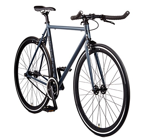 Best Buy! Big Shot Bikes | Kyoto Gray | Fixie Track Bike | Single Speed or Fixed Gear | Slate Gray &...