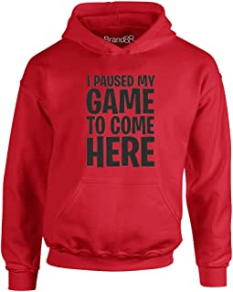 I Paused My Game to Come Here, Kids Hoodie