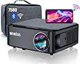 Best Android Projectors - WiFi Bluetooth Projector,WiMiUS K1 7500 L Video Projector Review