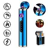 ASANMU Mini USB Feuerzeug Touchscreen, Elektro Feuerzeug Lichtbogen Feuerzeug Aufladbar Mini...