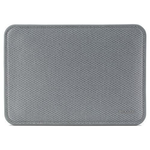 Incase INMB100262-CGY ICON Sleeve for 12-Inch MacBook with Diamond Ripstop - Cool Grey