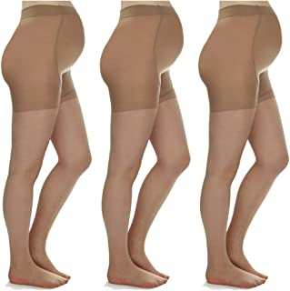 Silky Toes Maternity Sheer Pantyhose for Pregnancy