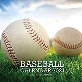 Baseball Calendar 2021: 16 Month Calendar