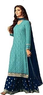 Indian/Pakistani Ethnic wear Georgette Plaazosharara for Womens sharara Dress Indian Women
