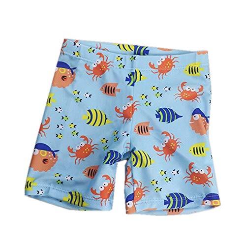 スイムウェアキッズ 水泳パンツ 1−9歳 子供用水着 カッコイイ 温泉水着 ベビー 水着 男の子 魚パンツXL