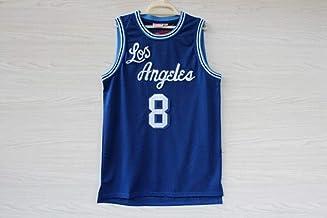 ZJFXSNEH Ropa Deportiva para Hombres NBA Jersey Lakers No.24 Kobe No.8 Vintage Bordados Ropa de Baloncesto Camisetas de Baloncesto de la Escuela Secundaria