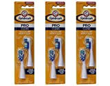 ARM & HAMMER Spinbrush Pro-Clean Replacement Brush Heads, Medium 2 ea (Pack of 3)